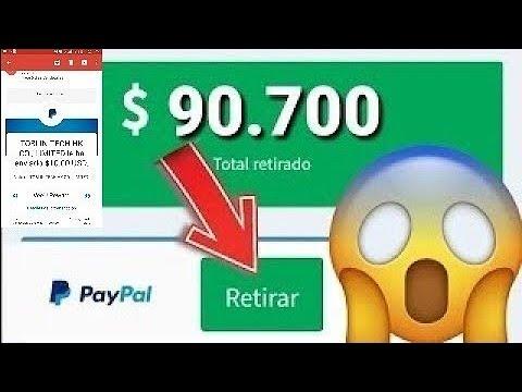 TOPS 2 INCREÍBLES APPS PARA GANAR 30 DÓLARES DIARIOS EN PAYPAL- Ganar dinero en PayPal Brutalmente