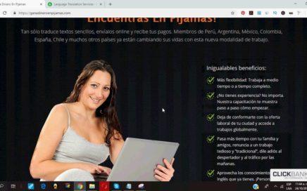 Trabajo desde Casa por Internet Gana Dinero Traduciendo