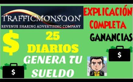 TrafficMonsoon 2015 | Trafficmonsoon Explicacion | Como Ganar Dinero Para PayPal
