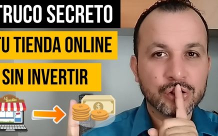 TRUCAZO Para Crear Una Tienda Online EN MINUTOS Sin Shopify & Sin Invertir. SECRETO de Dropshipping