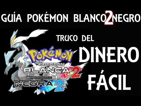 Truco de cómo conseguir dinero fácil en Pokémon Blanco/Negro 2