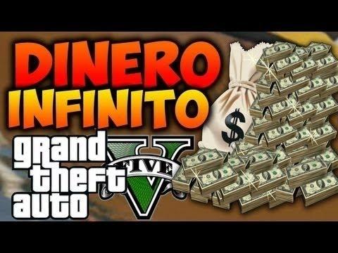 Truco dinero infinito en  GTA V modo historia