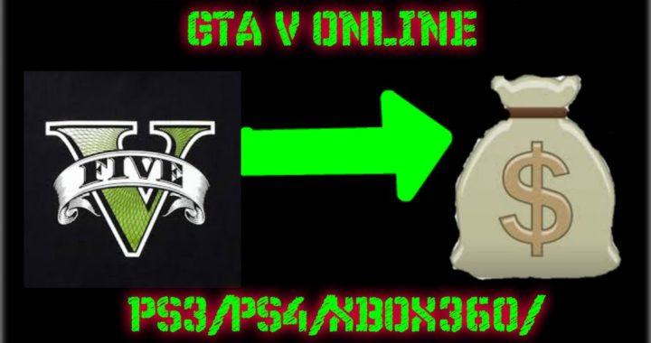 TRUCO DINERO INFINITO GTA V ONLINE PARA PS3/PS4/XBOX360/XBOXONE