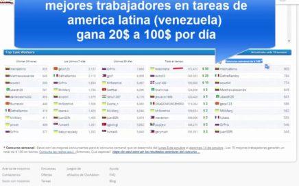 Usuarios de america latina en Clixsense y sus ingresos