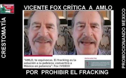 VICENTE FOX DICE QUE AMLO SE EQUIVOCA POR NO ESTAR INFORMADO