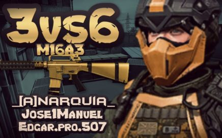 Warface-GamePlay Español/team deathmatch/3vs6/M16A3/1080p 60fps