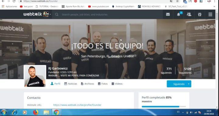Webtalk Español   Red Social para Ganar Dinero Paypal