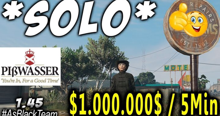 $1,000,000 Every 5 Min In GTA 5 Online Solo Unlimited Money Glitch