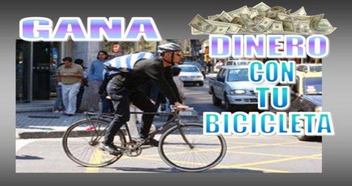 13 FORMAS DE GANAR DINERO CON TU BICICLETA