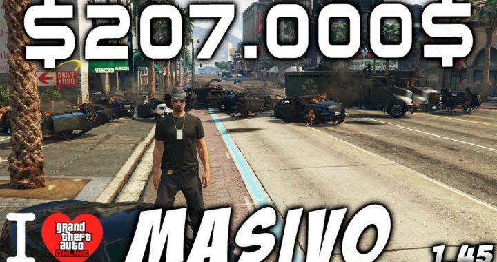 $207.000$ cada 10 segundos - | BRUTAL | - Duplicar coches de la calle - MASIVO - GTA V 1.44/1.45