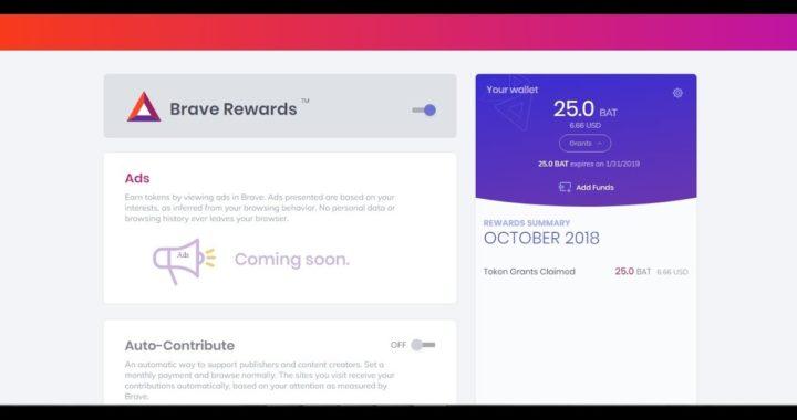 ACTUALIZACIÓN DE BRAVE: Nueva Interface!!! ¿Ganar dinero viendo publicidad en tu navegador?