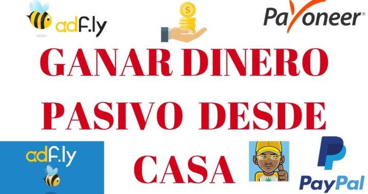 ADFLY CÓMO FUNCIONA, GANAR DINERO, DESDE CASA