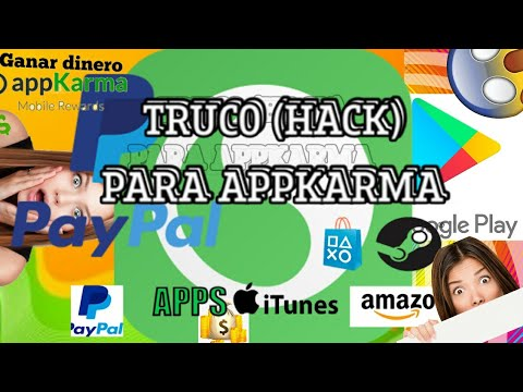 appKarma Hack 2018 En Español (SIN QUE TE BANEEN) - HACK Para Tener Mas Puntos en APPKARMA Android