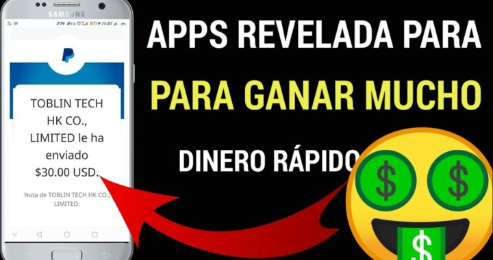 APPS REVELADA PARA GANAR MUCHO DINERO/PAYPAL 2018