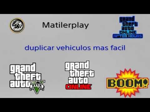 "¡"" aún mas fácil""! Duplicar vehículos gta v online 1. 45"