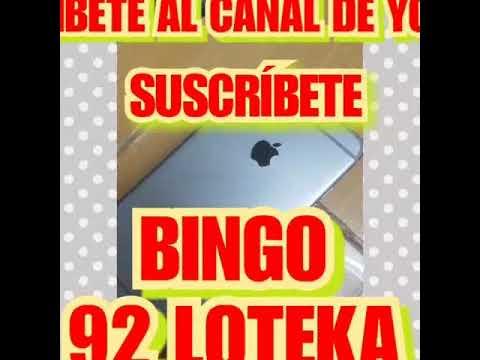 BINGO 29v Loteka Publicado Hoy Mismo Bendiciones Suscríbete Gana Dinero
