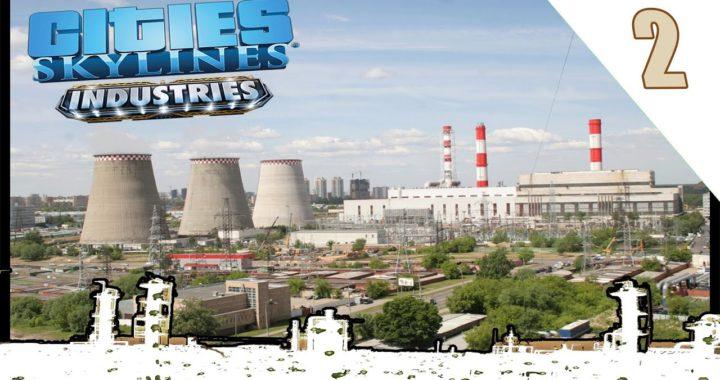 Cities Skylines DLC #INDUSTRIES, #2 Como Ganar Dinero Fácil