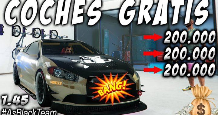 *COCHES GRATIS - FREE* - Como ganar $200.000$ cada 10 SEGUNDOS - GTA V - (PS4 - XBOX One)