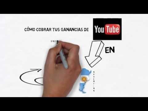 Cómo cobrar las ganancias de Youtube en Argentina
