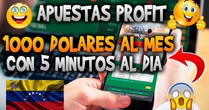 Cómo ganar $1000 DÓLARES AL MES en Internet  / Apuestas profit PREMIUM