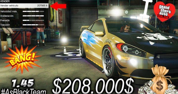 COMO GANAR $ 208.000 $ cada 10 segundos en GTAV Online - | BRUTAL | - (PS4 - XBOX One)