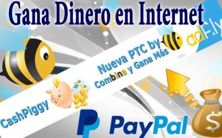 Como Ganar Dinero Con CashPiggy PTC de Adfly HD