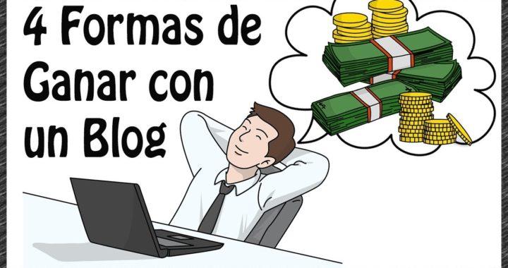 Cómo ganar dinero con un Blog | 4 Ejemplos de como gana un Blogger