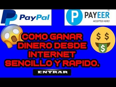 COMO GANAR DINERO DESDE INTERNET | NUEVO MÉTODO