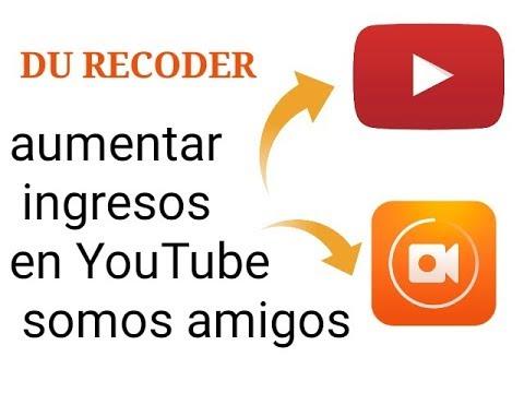 Cómo ganar dinero en DU Recoder y monetizar videos | Cómo aumentar y generar más ingresos en YouTube