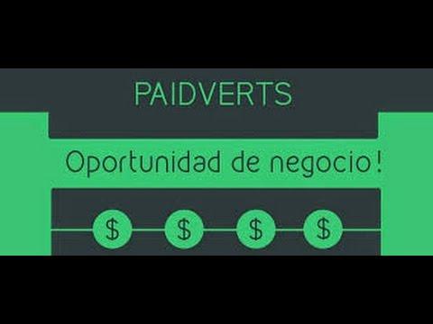 Como ganar Dinero en Internet   Paidverts   2015