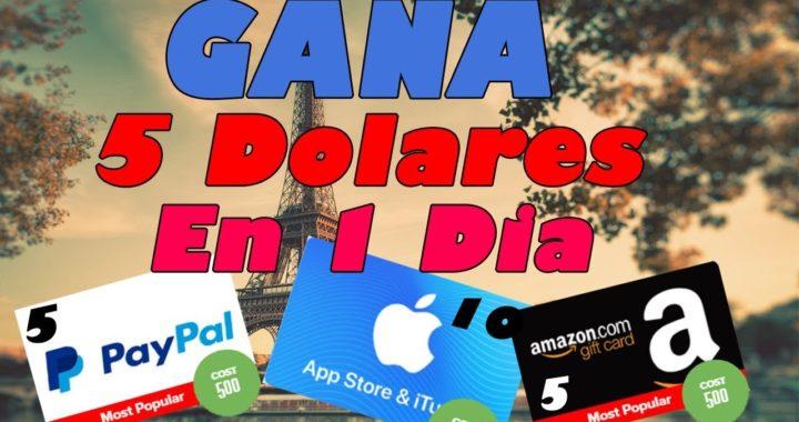 Como Ganar Dinero Fácil y Rápido en internet sin invertir (Mejor Pagina) para Paypal y Amazon 2018