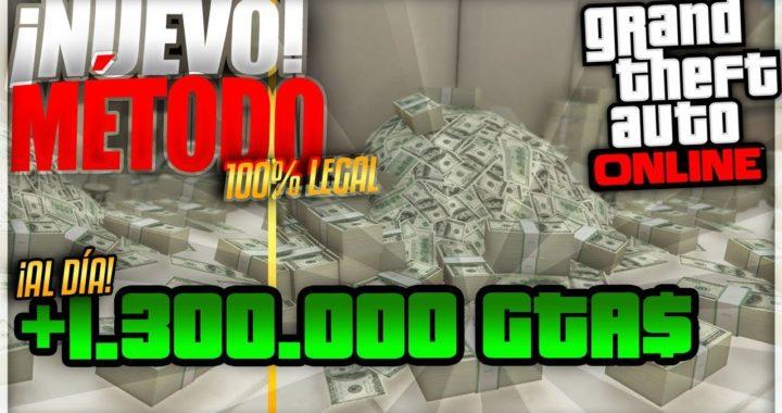 ¡CÓMO HACER +1.300.000 GTA$ LEGALES al día! | Ganar dinero con las BONIFICACIONES