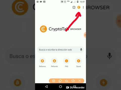 como instalar crytoTab app