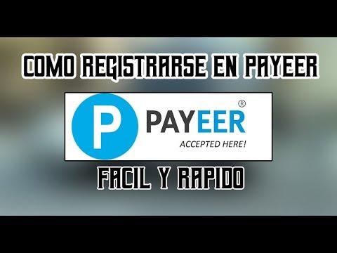 COMO REGISTRARE EN PAYEER FÁCIL Y RÁPIDO YA | MÉTODO SENCILLO