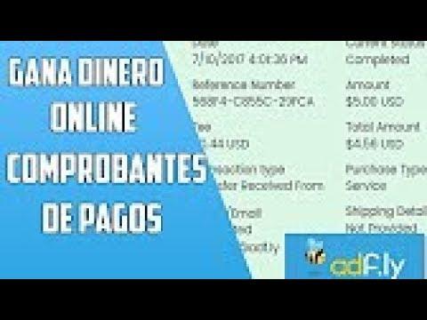 COMPROBANTE DE PAGO 2017| 5 USD DIARIOS |ADFLY|GANAR DINERO POR INTERNET |2017