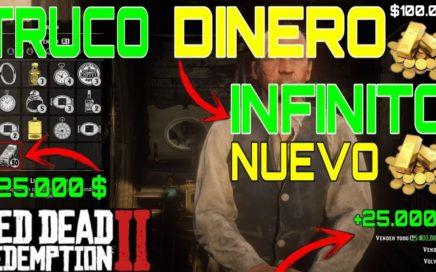CONSEGUIR DINERO INFINITO EN RDR2 | TRUCOS DE GANAR DINERO INFINITO EN RED DEAD REDEMPTION 2 | NUEVO