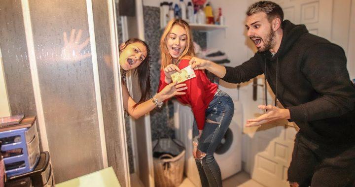 EL ULTIMO EN SOLTAR EL DINERO, GANA! *acabamos en la ducha* con Mi Novia Mi Ex Novia