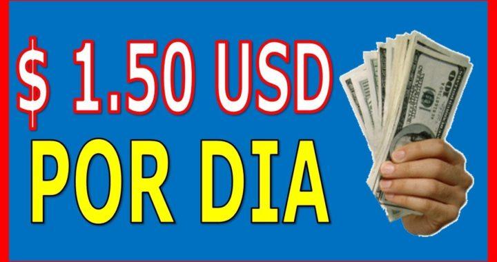 Gana $1.50 Dolares Diarios Sin Referidos | Hasta 0 06 USD Por Clic