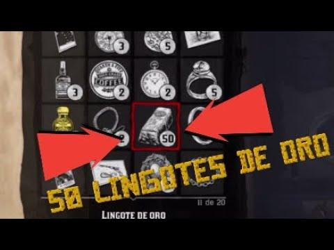 GANA 50 LINGOTES DE ORO *NUEVA FORMA GANAR MAS DINERO* - RED DEAD REDEMPTION 2