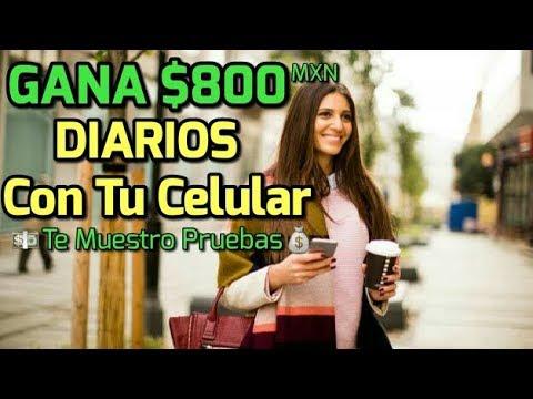 GANA 800 DIARIOS CON TU SMARTPHONE - COMO GANAR DINERO POR INTERNET