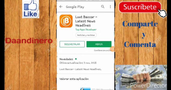 Gana dinero a paypal viendo Noticias y anuncios - Loot Bazar