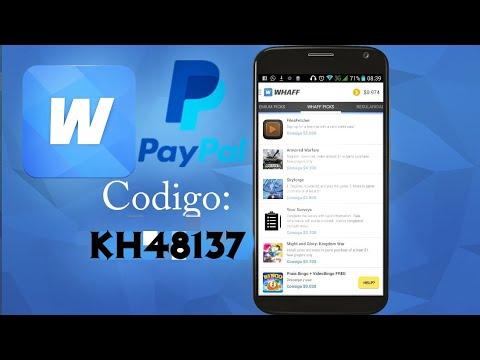 GANA DINERO AHORA!! WHAFF 2018 PayPal