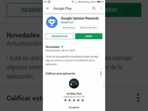 Gana Dinero con Google Opinion Rewards contestado encuestas #Google #GoogleOpinionRewards #PlayStore