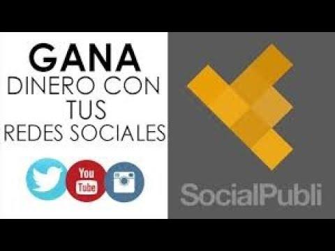 """Gana Dinero Con Tus Redes Sociales Monetizandolas Con """"Socialpubli.com"""" Directo a Paypal"""