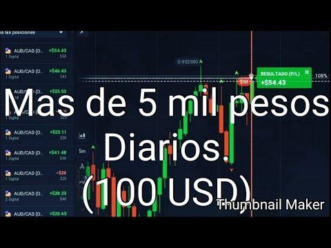 Gana Dinero haciendo TRADING cuenta REAL 100 USD Diario-BigTrader