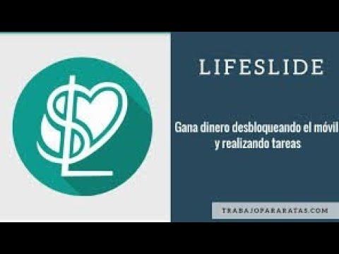 Gana dinero para PayPal con LifeSlide