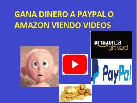 GANA DINERO VIENDO VIDEOS A PAYPAL GIFTCARD AMAZON SNUCKLS
