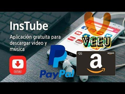 Ganar dinero desde tu celular Viendo y descargando Videos, Paypal y Amazon gift cards