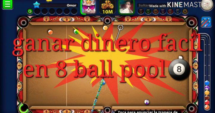 Ganar dinero facil en 8 ball pool...