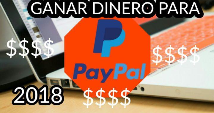 GANAR DINERO PARA PAYPAL $$$ GRATIS FACIL NOVIEMBRE 2018 MÉXICO